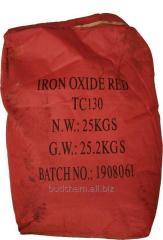 Пигмент железооксидный красный ТС 130 Китай сухой
