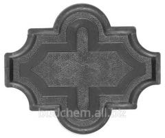 Форма Клевер гладкая, шагрень, с узором