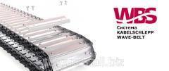 Шарнирно-пластинчатый конвейер с системой Wave-belt