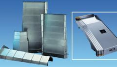 Телескопическая защита направляющих станков