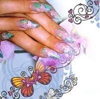 Акриловая пудра для наращивания ногтей