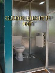Туалет кабина уличный стационарный Идеал ТК-3  с