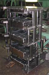 Пресс-форма для тормозных колодок