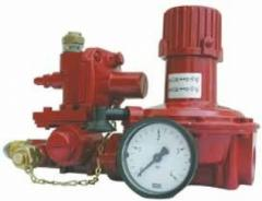 Regulator of average pressure PN25 (I step)