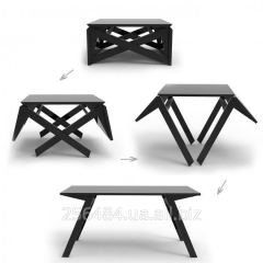 Wooden transforming little table