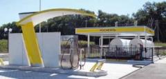 """Complete gas gas stations """"FAS"""" with nazemnorazmeshchenny capacities"""