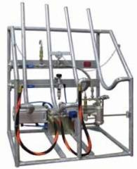 Опорожняющая установка PN25 для газовых баллонов
