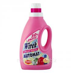 Washing gel of color linen in WIREK 1 machines