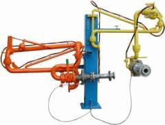 Установка - гибкие металлорукава PN25 для...