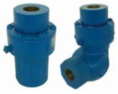 Swivel joint of PN 25 for hose and pipe