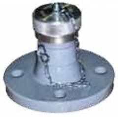 Соединение для подключения трубопровода АГЗС к газовозу (FAS 98 124)