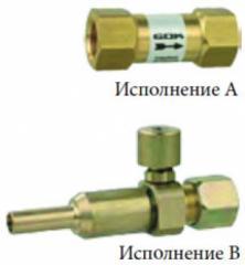 Скоростной клапан для трубопроводов...