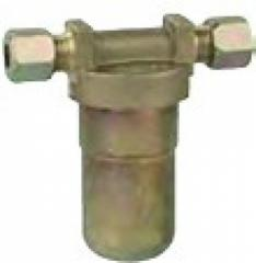 The gas-filter close-meshed (the cell size - 250