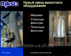 Sand filters (pesochnik) for alcoholic beverage