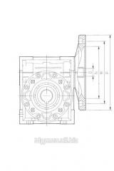 Редуктор NMRW 075 100B5/B14