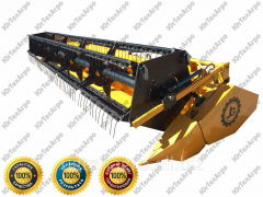 Harvester for cleaning of ZhS-5,2 soy; 6; 6,7; 7,5 m.