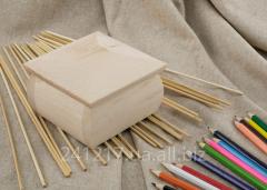Деревянная шкатулка-заготовка №237701