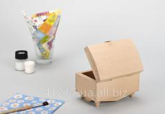 Деревянная шкатулка-заготовка №389346
