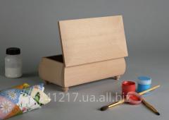 Деревянная шкатулка-заготовка №988544