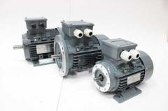 Мотор трёхфазный MS 802-4 0, 75 kW 1400...