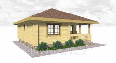 Каркасные деревянные дома,  под ключ, готовая