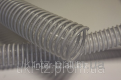 The PVC hose reinforced for seeders of of 50 mm