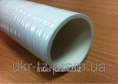 PVC sleeve for cleaning of systems of the sewerage