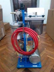 Flushing station for Turbo-Cleaner