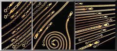 Золотые браслеты ручной вязки, женские и мужские
