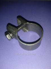 Collar of an exhaust pipe, abgaz of an autonomous