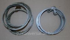 Ring oil scraper on the engine 1D6, 3D6, D12,