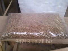 Pellets from environmentally friendly pine wood
