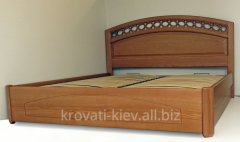 "Double wooden bed ""Ekaterina"" in"