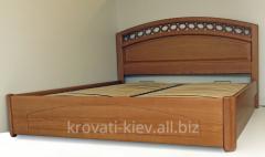 """Двуспальная деревянная кровать """"Екатерина"""" в..."""