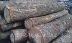 Oak round timber