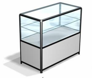 Trade racks of the show-window and counters