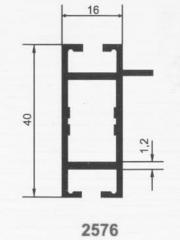 Trade profile cross bilateral with one shelf