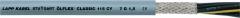 The screened OLFLEX CLASSIC 115 CY 7G1 (LAPP