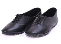 Туфли М-1 черные чб