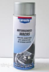 Lubricant protective for the engine on the cereous
