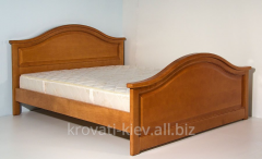 "Double wooden bed ""Galina"" in"