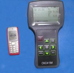 Portable gas analyzer of OKSI-5M