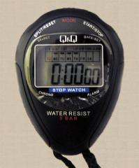 Stop watch digital