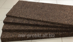 Pith agglomerate thickness is 10 mm