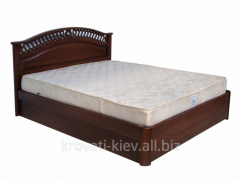 """Двуспальная деревянная кровать """"Глория"""""""