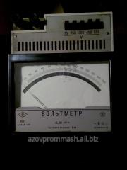 Voltmeters, ampermeters in assortmen