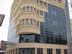 Front aluminum systems Kharkiv, aluminum facades,