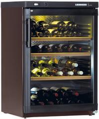 Отдельностоящий климатический винный шкаф Liebherr