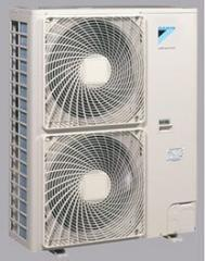 Air heating by thermal pumps
