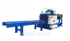 Equipment for processing wood waste